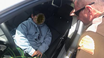 Pětiletý chlapec si sedl za volant. Jel si koupit Lamborghini