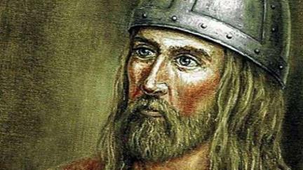 To je tvář vikinga, který objevil Ameriku před Kolumbem