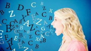 Písmenka se z ní jen sypou, protože je nabita jazykovou bílkovinou