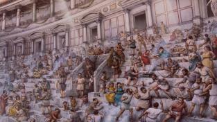 Důmyslný systém chodeb v římských amfiteátrech se používá dodnes