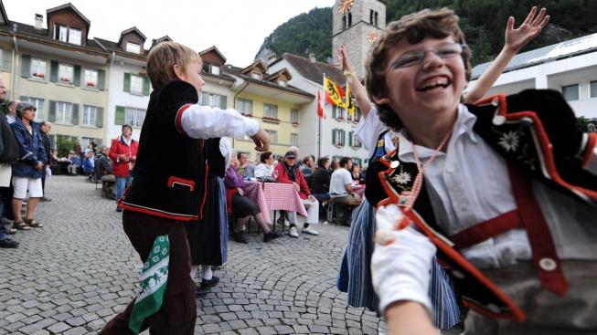 Festival jódlování v Interlakenu