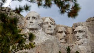 Mount Rushmore a jeho Svatyně demokracie