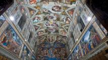 Práce v Sixtinské kapli šla Michelangelovi pěkně na nervy
