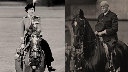 Alžběta a Masaryk: Když vůdci usednou na koně...