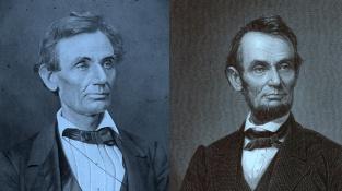 Dvě podoby Abrahama Lincolna