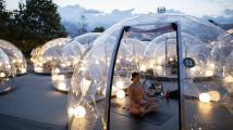 Jóga v bublině