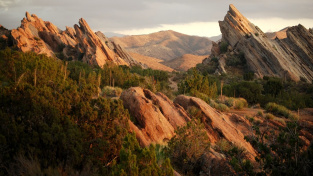 Vasquez Rocks - oblíbené natáčecí místo