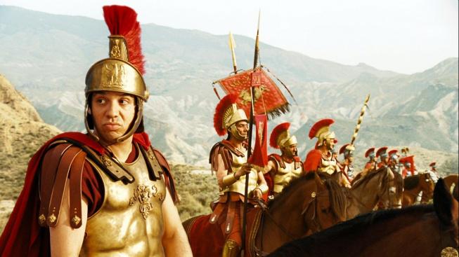 Římská vojska ve filmu Asterix a Olympijské hry