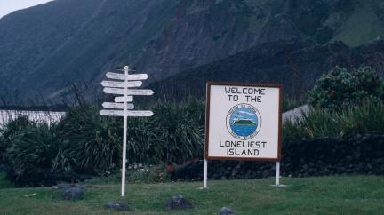 Nejodlehlejší ostrov na světě, na kterém můžete uvíznout dlouhé měsíce