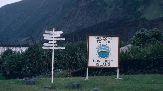 Tristan da Cunha je nejodlehlejším místem na světě
