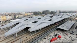 Hlavní nádraží ve Vídni