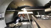 Karavan z leteckého motoru