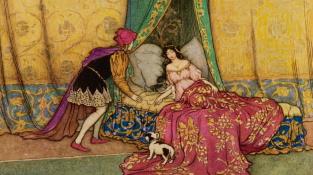 Podle vyhlášky Jindřicha VI. by zakleté princezny měly v Anglii smůlu, princové je políbit nesměli