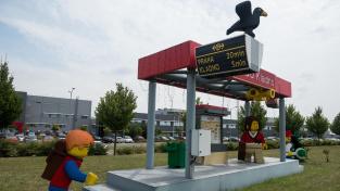 Exteriér továrny LEGO Production