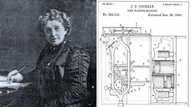 Josephine Cochraneová a patent na její myčku nádobí