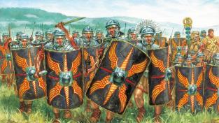 Římští vojáci od Giuseppeho Ravy