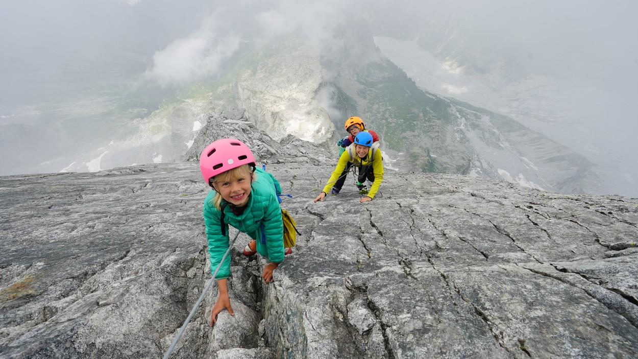 Horolezecká rodina