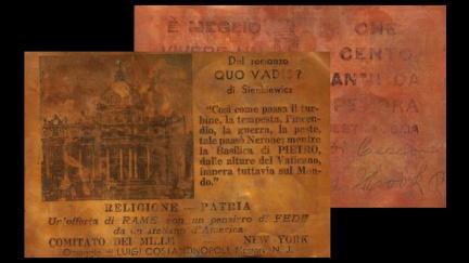Italským fašistům měly pomoci měděné pohlednice