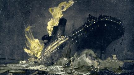 Přežít zkázu Titaniku byla ostuda pro celou zemi