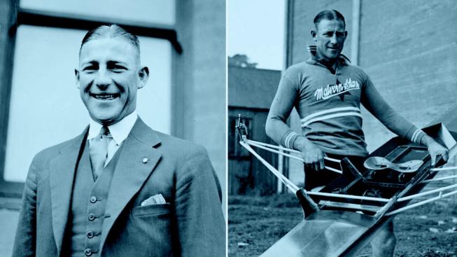 Olympijský vítěz Henry Robert Pearce