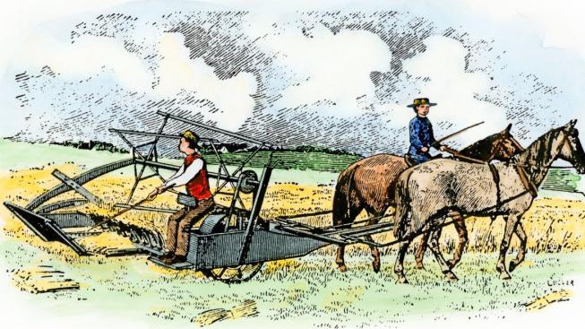 McCormickův mechanický žací stroj