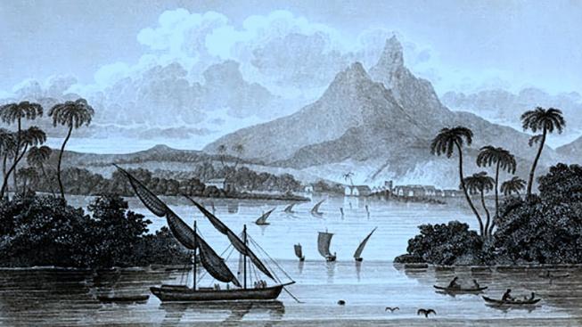 Tak takhle měl podle MacGregora vypadat poyaiský přístav Black River