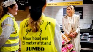 Do supermarketu Jumbo zavítala i nizozemská královna Máxima