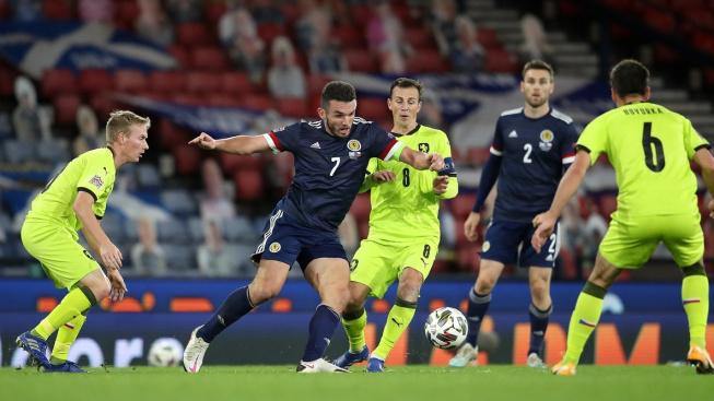 Skotsko-Česká republika v utkání Ligy národů 14. října 2020