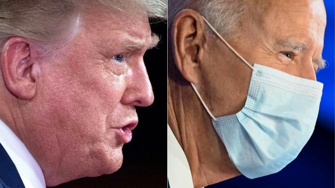 Donald Trump a Joe Biden se tentokrát střetli jen na dálku v souběžných diskusích