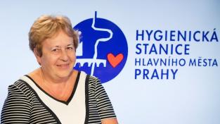 Zdeňka Jágrová, ředitelka Hygienické stanice hl. m. Prahy