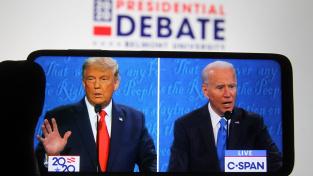 Poslední debata Trump-Biden před prezidentskými volbami
