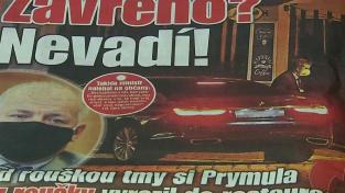 Podle Blesku byl Prymula ve středu pozdě večer navzdory zákazu v restauraci na pražském Vyšehradě.