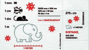 Rakouská pošta vydá koronavirovou známku na toaletním papíře