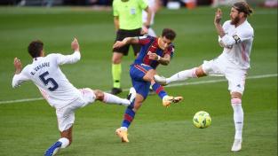 Utkání FC Barcelony s Realem Madrid 24. října 2020