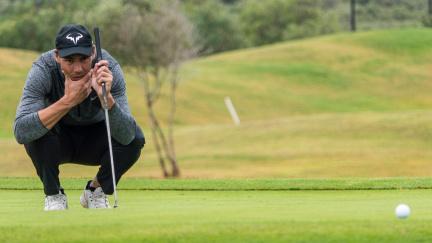 Tenista Nadal uspěl i mezi golfovými profesionály