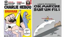 Turecko hrozí kvůli karikaturám. Budeme znovu Charlie?