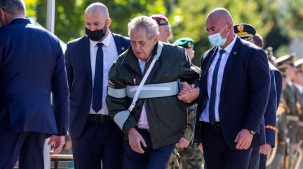 Aktualizováno: Prezident Zeman dle průzkumu ztrácí na významu - nezvládá krizi