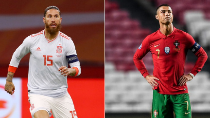 Ramos a Ronaldo mají na dosah rekordy v počtu reprezentačních startů a gólů