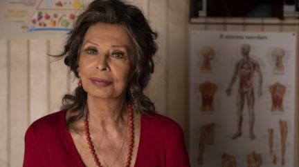 Stále vitální Sophia Lorenová si po letech znovu zahrála ve filmu