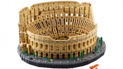 Koloseum z 9000 kostiček je největší stavebnicí lega