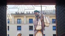 Obří betlém v Alicante