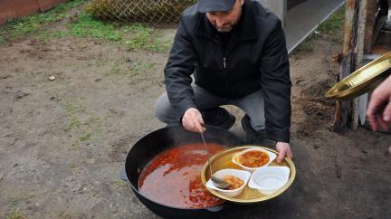 V ukrajinsko-ruské válce se tentokrát bojuje o boršč