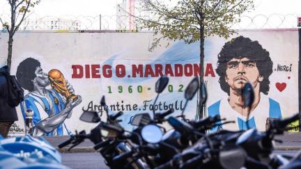 Maradona by se mohl objevit na argentinských bankovkách