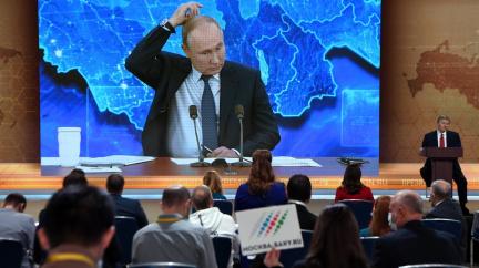 Putin na tradiční konferenci probral USA, Navalného, koronavirus i Safronova