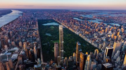 Kvůli pandemii se loni dostavělo nejméně mrakodrapů za posledních šest let