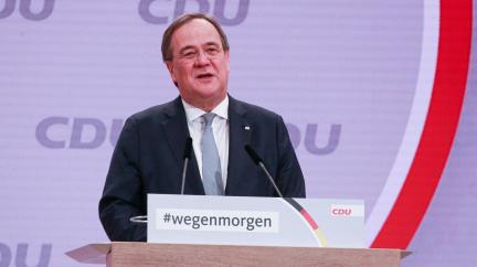 Předsedou německých křesťanských demokratů se stal Armin Laschet