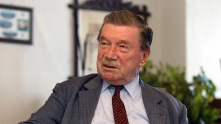 Zemřel potomek šlechtického rodu Zdeněk Sternberg, bylo mu 97 let