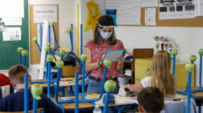 Malotřídní škola v době pandemie