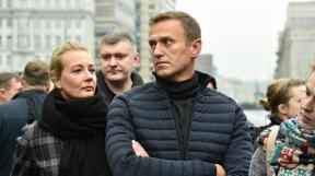Alexej Navalnyj a Julija Navalná