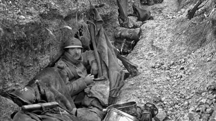 OBRAZEM: Krvavá jatka u Verdunu začala před 105 lety